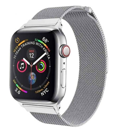 Viljar Milanese Apple Watch fémszíj ezüst