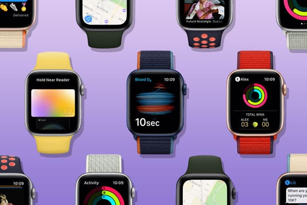 Apple Watch 6 számlapok