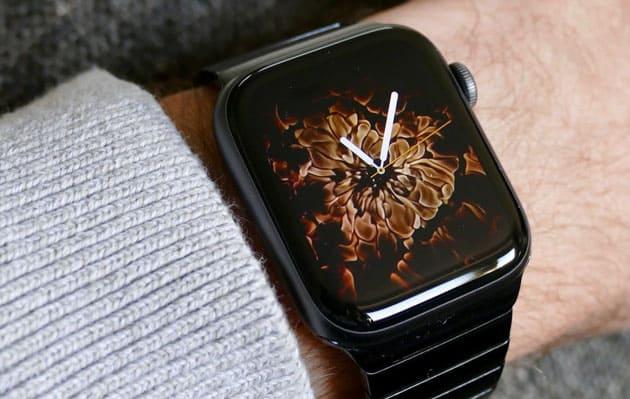 apple watch fire