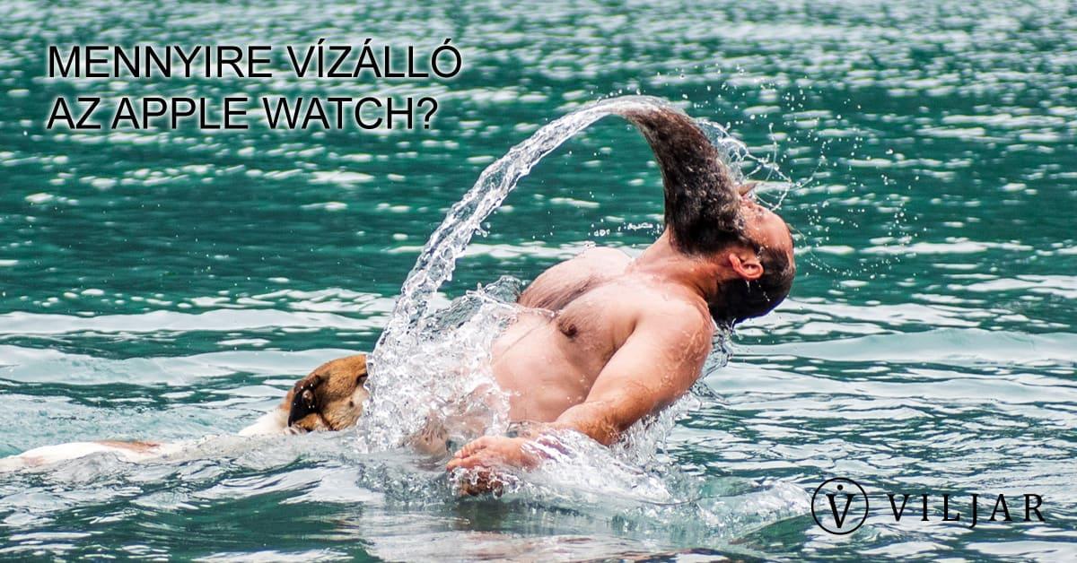 Apple Watch vízállóság
