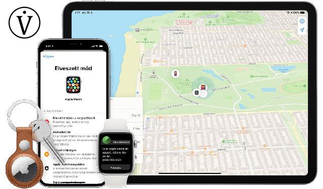 Elveszett Apple Watch Lokátor