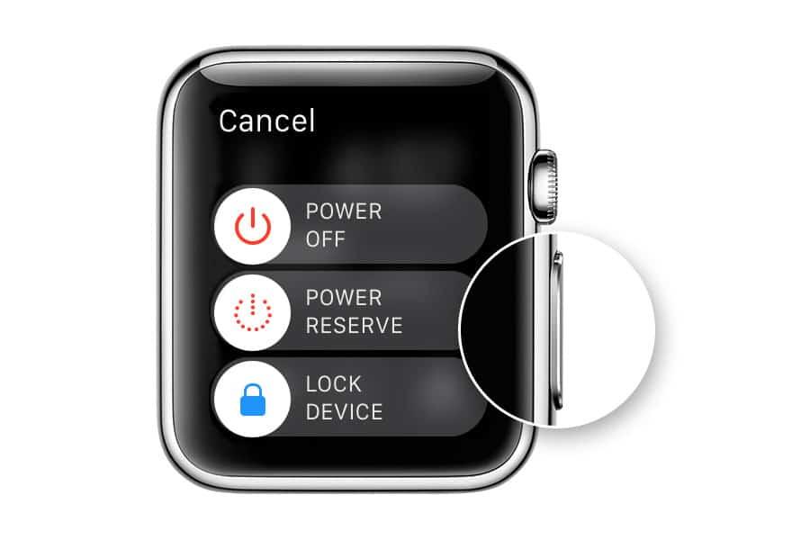 Hogyan kell újraindítani az Apple Watchot