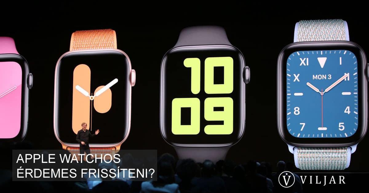 Érdemes frissíteni a legújabb Apple watchOS verziót?
