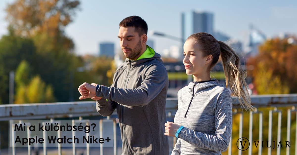 Mi a különbség? Nike+
