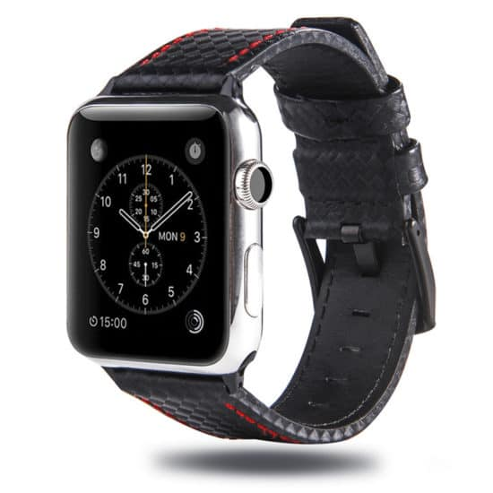 Viljar Carbon Apple Watch szíj
