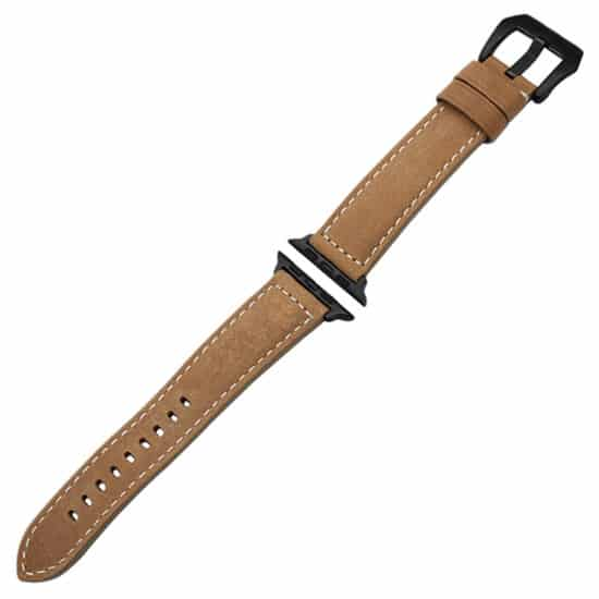 Viljar Light Brown Apple Watch bőrszíj barna