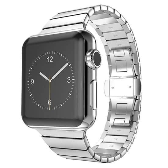 Viljar Link Apple Watch fémszíj ezüst