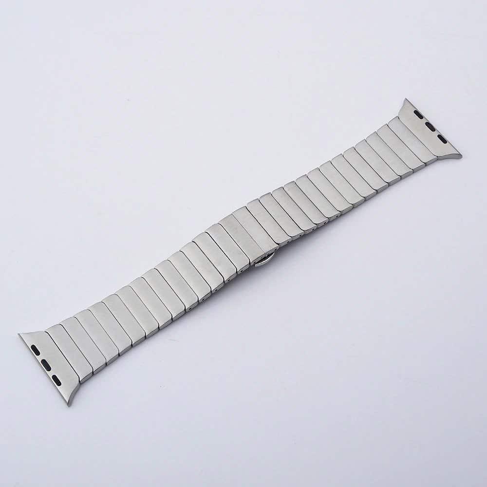 Viljar Link ezüst színű Apple Watch szíj