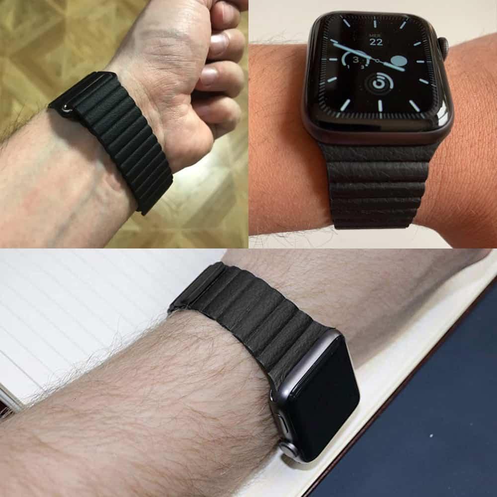Viljar Loop Apple Watch bőr szíj