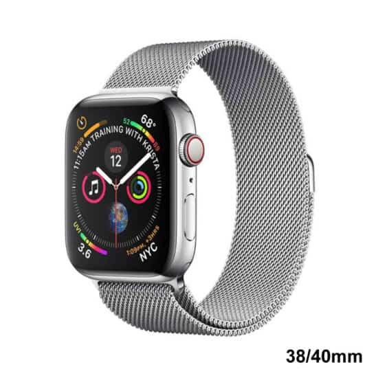 Viljar Milanese Apple Watch fémszíj ezüst
