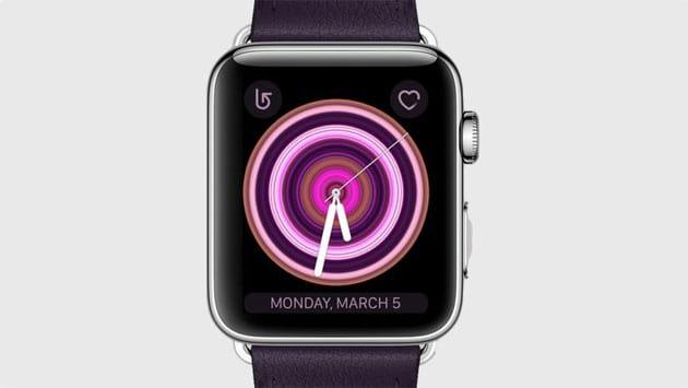 Watch számlap kaleidoszkóp